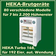 Heka Turbo 168 - Incubateur en plastique pour 192 oeufs, avec vollautomat. Twist