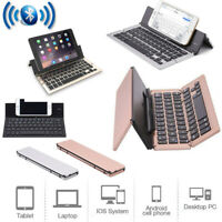 Portable Folding Slim Wireless Bluetooth Keyboard for Android / iOS / Windows