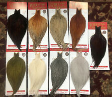 Whiting Dry Fly Rooster Capes Bronze Grade *New*