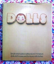 Dolls: Simple, Traditional & Miniature Dolls, Doll Houses, Furniture & Clothes