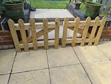 Pair of Wooden Picket Garden Gates  High Quality Handmade - Never been hung