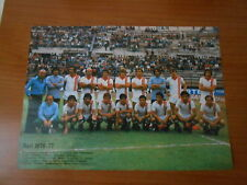 BARI-PISTOIESE mini poster 1976-77-ritaglio del guerin sportivo-cm.22,5x31