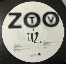 "U2 Zoo Station - US Promo 12"" vinyl picture disc RARE"