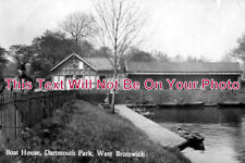 ST 193 - Boat House, Dartmouth Park, West Bromwich, Staffordshire - 6x4 Photo