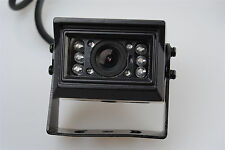 IR Camera 4pin Sharp CCD Rear View Backup  For Truck Bus Caravan Trailer Parking