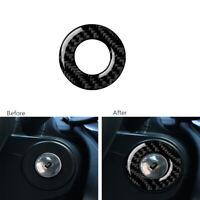 Carbon Fiber Ignition Keyhole Lock Ring Cover Trim  For Chevrolet Cruze 2009-15