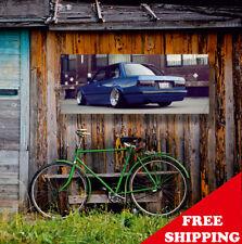 Bmw E30 Banner Vinyl Sign - Free Shipping Worldwide