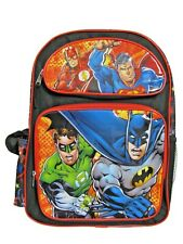 """B17JL35549 Justice League Large Backpack 16"""" x 12"""""""
