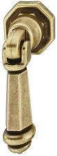 Cabinet Furniture Drop pull Ring handle, zinc,Antique Bronze- Brass, Knob