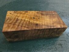 WB-CURLY!!!  WALNUT BURL DELUXE  KNIFE BLOCK/SCALES/ CALLS/ PEN BLANKS--W--B--4
