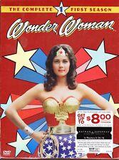 Wonder Woman Complete TV 1st First Season 1 One NEW 5-DISC DVD SET Lynda Carter