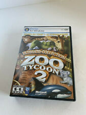 Zoo Tycoon 2: Ultimate Collection Windows PC Game MISSING DISC 1 !!!!