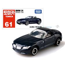NEW Takara Tomica Tomy #61 BMW Model Z4 Black Scale 1/61 Diecast Toy Car Japan