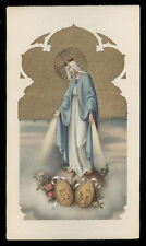 "santino-holy card""""ediz. NB serie 1  n.713 MADONNA DELLA MEDAGLIA MIRACOLOSA"