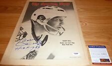 """Psa/Dna Bobby Hull """"Hof 1983"""" Autographed-Signed 2-8-1969 The Sporting News 6072"""
