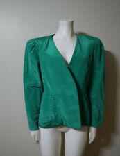 Women'S Green Vintage Evening Jacket - Pantagis - Size 9-10 - Blazer