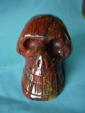 Crystal Skull natural multi coloured jasper wow!