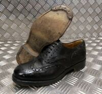 Genuine British Army Highland Issue Service Shoes Brogues Blakeys Faulty