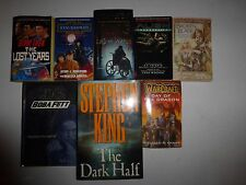 Lot of 8 Science Fiction Books,Stephen King,Star Wars, Star Trek,A.C. CrispinSf3