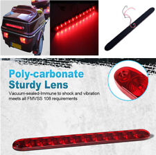 "1pcs 15"" Red 11LED Stop Tail Turn Brake Light Bar Waterproof For Truck RV Pickup"