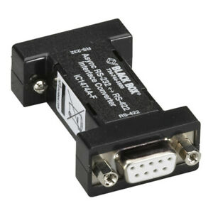 Black Box Corporation Ic1474A-F Async Rs232 To Rs422 Interface Converter Db9