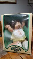 Vintage 1983 Cabbage Patch Kids Girl with Brown Hair RARE  CBK