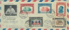 84483 -  ETHIOPIA  - Postal History - FDC COVER 1947 - Franklin Delano ROOSEVELT