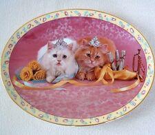ENCORE Kittens PLATE PRIMA BALLERINAS CATS Music Dance HORN ROSES Ballet Shoe