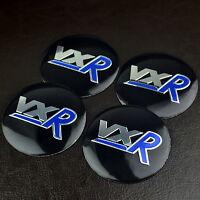 4pc 56mm VXR Wheel Centre Caps Badge Sticker For Corsa Meriva GTC Astra