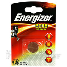 1 x Energizer Lithium CR2016 battery 3V Coin cell DL2016 BR2016 ERC2016 EXP:2023