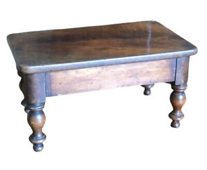 Victorian Apprentice Piece. Small Wooden Table,display Stand.