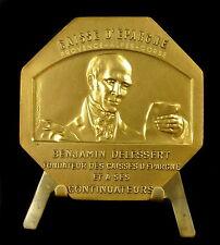 Medaglia Benjamin Delessert Cassa risparmio da Gregorio Medal 铜牌 J Goasguen