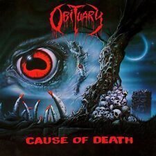 Obituary-Cause Of Death Vinyl LP Cover Death Metal Sticker or Magnet