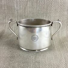 Antique Sugar Bowl Canadian National Steamships Shipping Line Silver Plate VTG
