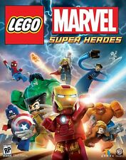 Lego Marvel Super Heroes Video Game for PC Computer Hulk Wolverine Thor Iron Man