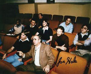 JOE HALE The Black Cauldron Original Autograph Signed Photo Cinema Walt Disney