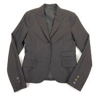 NEW Theory Women's Stretch Wool 2-Button Blazer/Jacket Black • Size 4