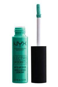 NYX Electro Brights Matte Lip Cream Whistler 06