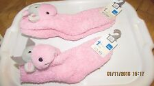 FLUFFY FUN SOCKS WITH COW HEAD TO ANKLE, Adams girl's wear, choice of 2 sizes