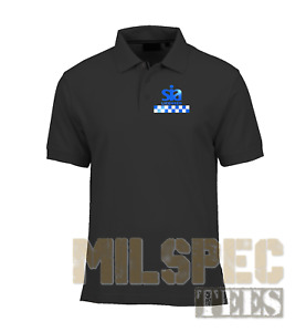 SIA Polo Shirt Hiviz Logo AirCool™ Moisture Wicking NEW for 2021! SECURITY