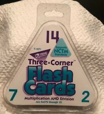 Three - Corner Flash Cards Multiplication & Division All Facts 1-12 #T1671