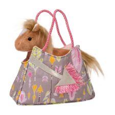 TRUE TO MY HEART SAK w/ HORSE Plush Stuffed Animal by Douglas Cuddle Toys #2096
