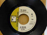 Al Wilson promo 45 The Snake Getting Ready For Tomorrow on Soul City