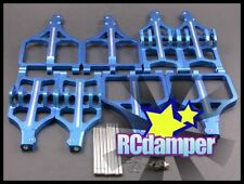 ALLOY UPPER & LOWER SUSPENSION ARM E-MAXX 3903 3905 3908 TRAXXAS FRONT & REAR