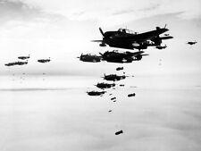 US Navy Avenger Torpedo Bombers, WW2 Photo WWII World War Two USN