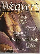 Weaver's magazine 34: Double-Width coverlet, tablecloth, dishtowels, more.