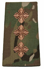 MULTICAM MTP OFFICIAL CAPTAIN RANK SLIDE 100% COMPATIBLE PATCH