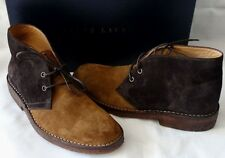 Ralph Lauren Black Label CALF Suede Chukka Boot Gr 40,5 UK 6,5 MADE IN ITALY