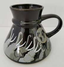 Otagiri Elephant Coffee Mug Tom Taylor Earth Trumpet No Spill Mariner Cup Japan