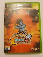Capcom vs. SNK 2 EO la primera XBOX la clasica pal España sin manual